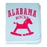 Alabama Rocks baby blanket