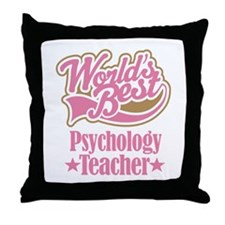 Psychology Teacher Gift Throw Pillow
