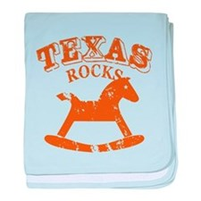 Texas Rocks baby blanket