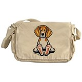 Funny Beagle Messenger Bag