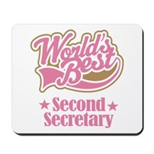 Secondary Secretary Gift Mousepad