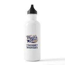 Secondary Secretary Gift Water Bottle