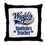 Statistics Teacher Gift Throw Pillow