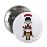 "Cute Roman Soldier 2.25"" Button (100 Pk)"