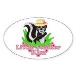 Little Stinker Kim Sticker (Oval 10 pk)