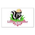 Little Stinker Kim Sticker (Rectangle 10 pk)
