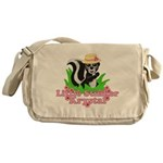 Little Stinker Krystal Messenger Bag