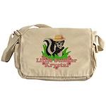 Little Stinker Krystal Messenger Bag