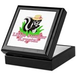 Little Stinker Krystal Keepsake Box