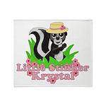 Little Stinker Krystal Throw Blanket