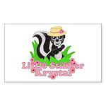 Little Stinker Krystal Sticker (Rectangle 10 pk)