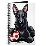 Black GSD Soccer Pro Journal