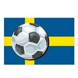 Swedish Soccer Postcards (Package of 8)