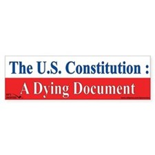 The U.S. Constitution : A Dyi Bumper Sticker
