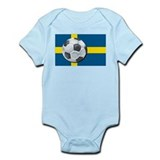 Swedish Soccer Infant Creeper
