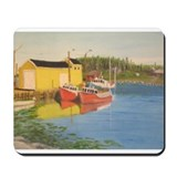 Nova Scotia Fishing Dock Mousepad