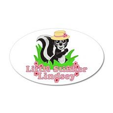 Little Stinker Lindsey 22x14 Oval Wall Peel