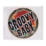 Groovy Baby Throw Blanket
