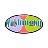 I love Washington DC 2 Patches