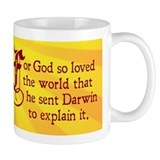 For God So Loved Darwin (Small Mug)