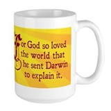 For God So Loved Darwin (Ceramic Mugs)