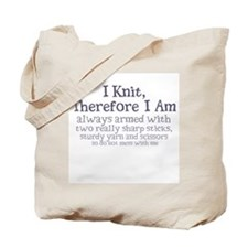 Unique Therefore i am Tote Bag