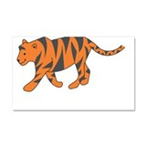 T is for Tiger Car Magnet 20 x 12