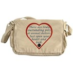 Open Your Heart Messenger Bag