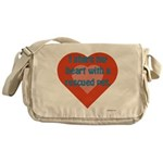 I Share My Heart Messenger Bag