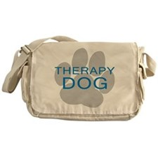 Therapy Dog Messenger Bag