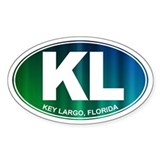Key Largo FL - Decal
