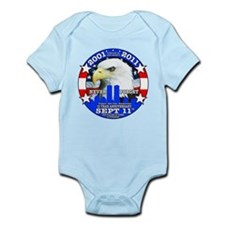 9-11 Sept 11 10th Anniversary Infant Bodysuit