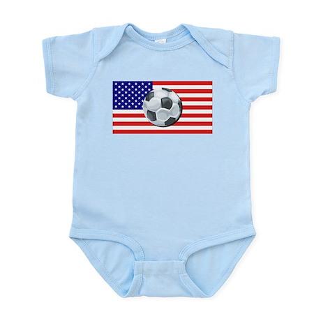 American Soccer Infant Creeper