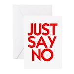 JUST SAY NO™ Greeting Cards (Pk of 20)