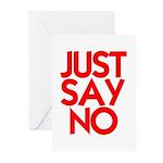 JUST SAY NO™ Greeting Cards (Pk of 10)
