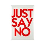 JUST SAY NO™ Rectangle Magnet