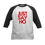 JUST SAY NO™ Kids Baseball Jersey