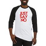 JUST SAY NO™ Baseball Jersey