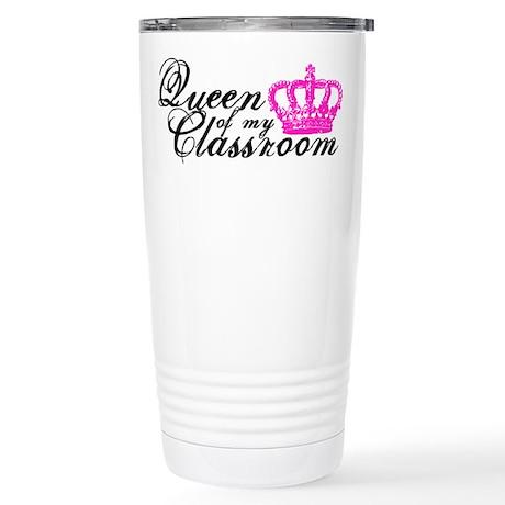 Classroom Queen Travel Mug