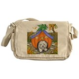 Pumpkin House Messenger Bag