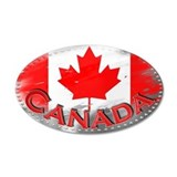 Canada - 22x14 Oval Wall Peel
