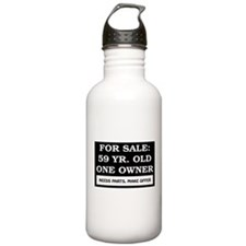 For Sale 59 Year Old Birthday Water Bottle