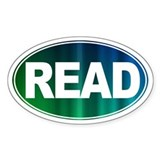 READ BOOKS! - Decal
