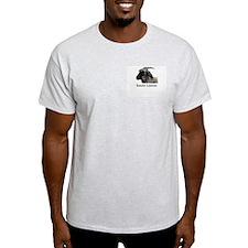 Angora Goat Ash Grey T-Shirt