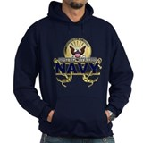 US Navy Gold Anchors Hoody