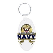 US Navy Gold Anchors Keychains