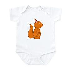 Cute Red Squirrel Infant Bodysuit
