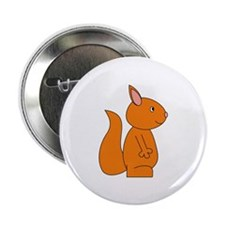 "Cute Red Squirrel 2.25"" Button (100 pack)"