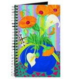 Orange Poppies Journal