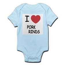 I heart pork rinds Infant Bodysuit